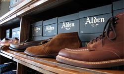 Alden Shoe Brand List