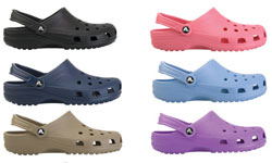 Crocs Shoe Brand List