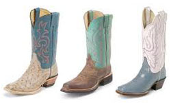 Justin Boots Shoe Brand List