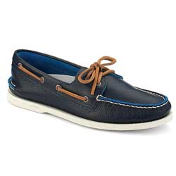 Authentic Original Two Tone 2 Eye Boat Shoe