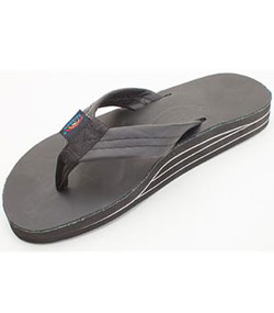 Double Layer Smooth Leather with Arch Support