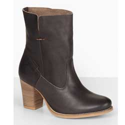 Sancio Leather Heeled Boots