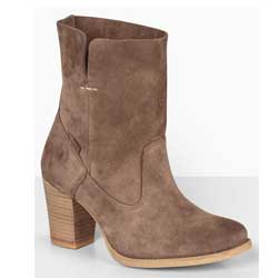 Sancio Suede Heeled Boots