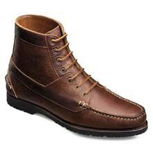 Allen Edmonds Yuma Brown Bison Leather Boots