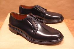 Alden Plain Toe Blucher Shoes