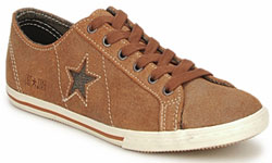 One Star Suede Low Profile Footwear