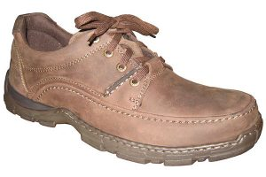 Hush Puppies casual leather shoe model
