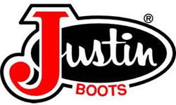 Justin Boots Official Logo of the Company