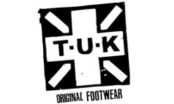 T.U.K. Official Logo of the Company