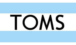 TOMS Official Logo of the Company