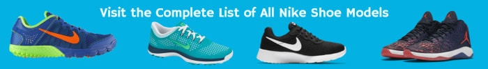 Full List of Nike Shoes