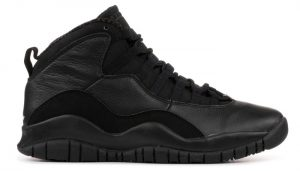 The Air Jordan 10 Black Version