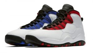 The Air Jordan 10 Red and Blue Version