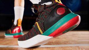 Li-Ning Men AIT VI Wade Series Professional Basketball Shoes Mono Yarn Cushion LiNing CLOUD Sport Shoes Sneakers
