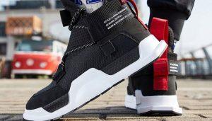 Li-Ning Unisex NYFW REBURN WS Basketball Leisure Shoes Wearable High-Cut CHINA LiNing Sport Shoes Sneakers