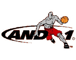 AND1 Official Logo of the Company