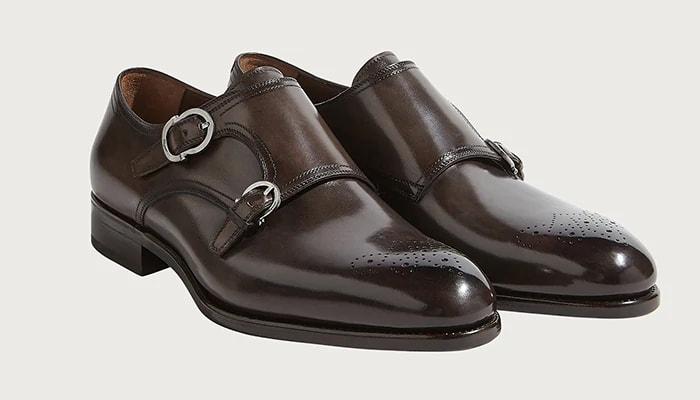 Salvatore Ferragamo Monk Strap Shoe