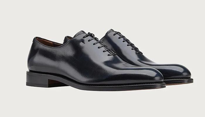 Salvatore Ferragamo Plain Toe Oxford Shoe