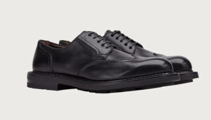Salvatore Ferragamo Wing Tip Derby